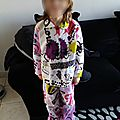 Pyjama burda cousu par exxx par une gentille mini miss