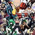 One punch man saison 1 – shingo natsume – animé