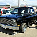 Chevrolet C10 pick-up step side de 1976 (RegioMotoClassica 2010)
