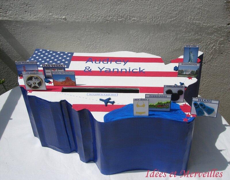 urne USA circuit Etats Unis - Idées et Merveilles