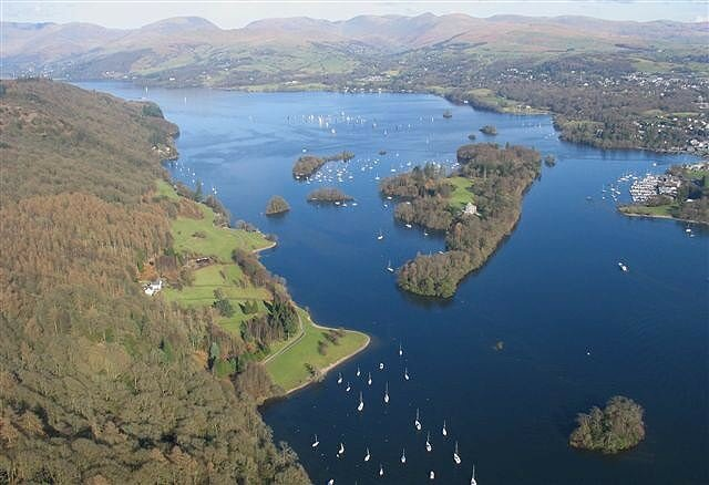 sailing at Windermere