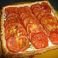 Tarte a la tomate et ricotta