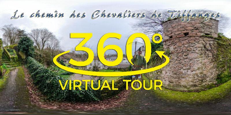 VIRTUAL TOUR TIFFAUGES LE CHEMIN DES CHEVALIERS
