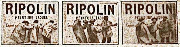 Photogramme Ripolin