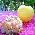 muffin chèvre, olives vertes et thym