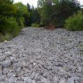 2009 10 07 Une 'coulée' de pierre entre Montgiraud et le Bouchat (3)