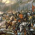 Bataille d'Azincourt John Gilbert 1884