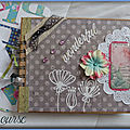 # scrapbooking # modifications # album numéro 5