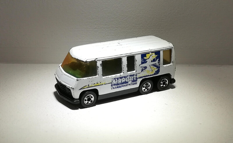 Gmc Motor Home (Hotwheels)