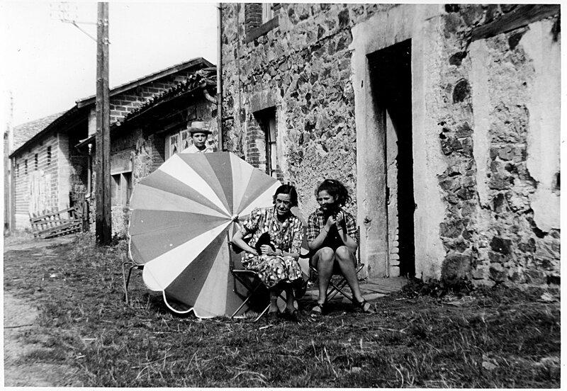 mémé chat et françoise parasol retouche