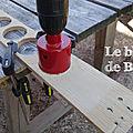 DIY puissance 4 en palette