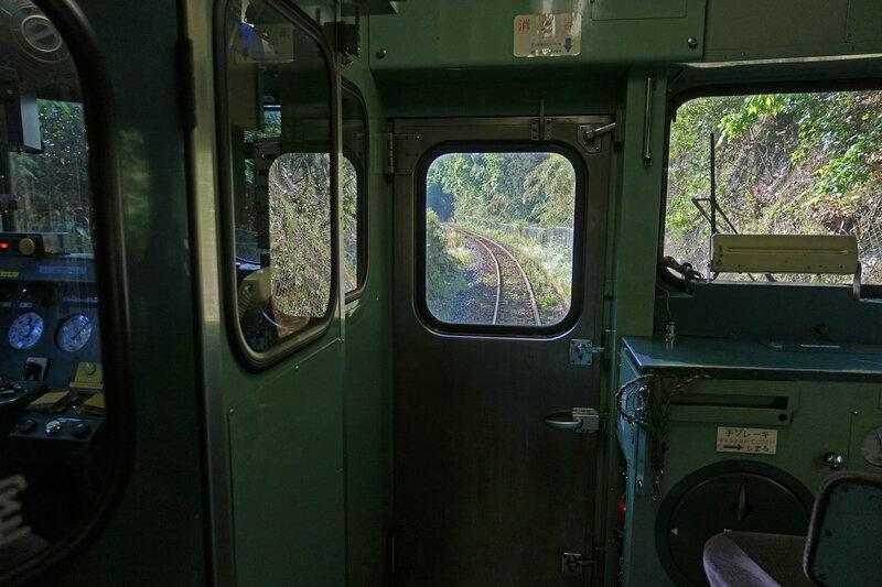 KiHa 47 cabine