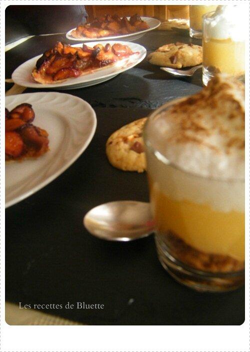 Un dessert Gourmand