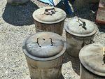 lessiveuse avec les pièces dedans ,raku,céramique,sculpture,argile,terre,modelage (3)