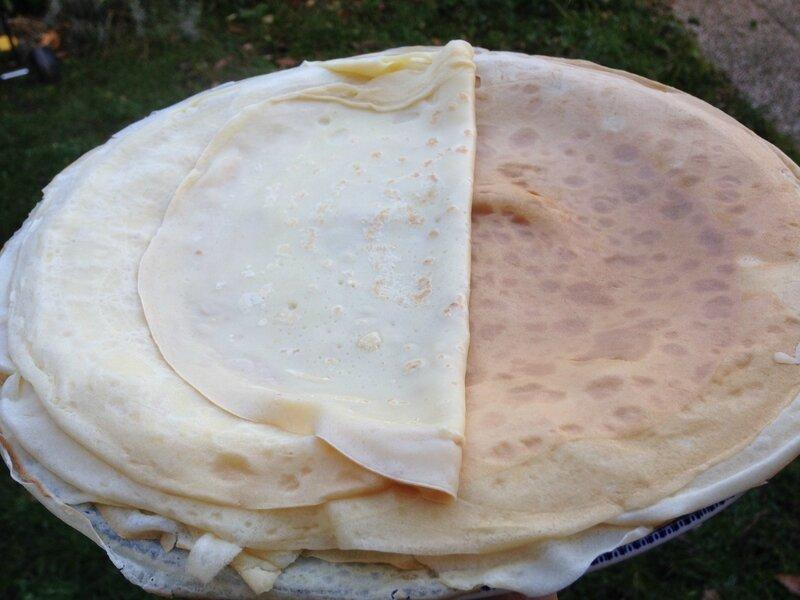 recette crepe moelleuse légère