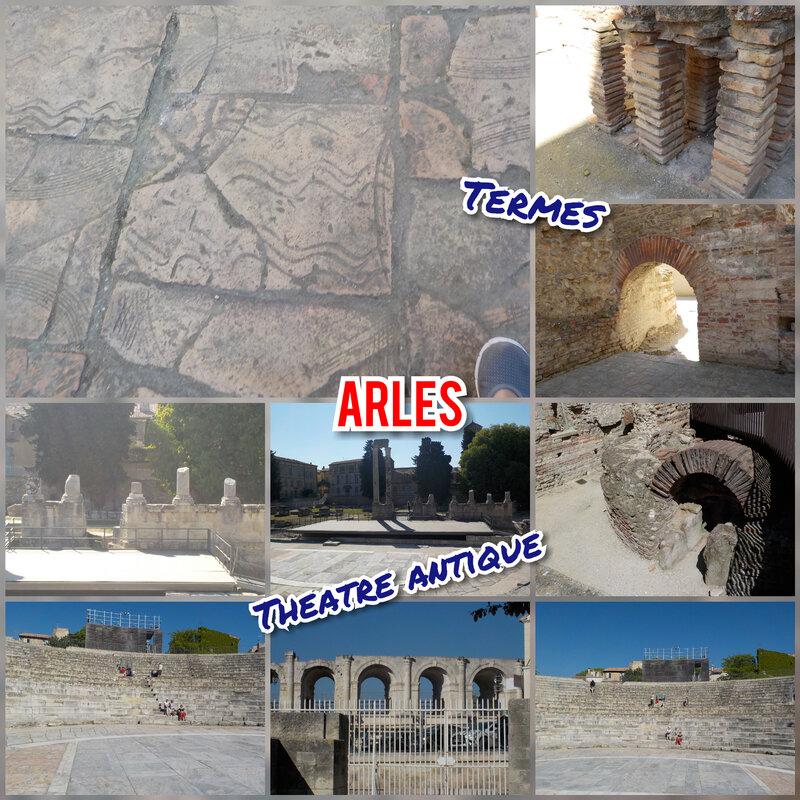 Arles Théâtre et termes