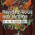 9 ème édition des rendez-vous aux jardins : à cavaillon