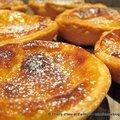 Pastéis de nata : le petit flan portugais qui nous rappelle le flan parisien.