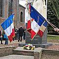 Commémoration 2011 du 11 novembre 1918