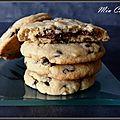 Cookies au cœur nutella