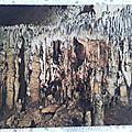 Chazelles - grottes du Queroy - salle de cristal