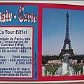 Histo-carte La Tour Eiffel