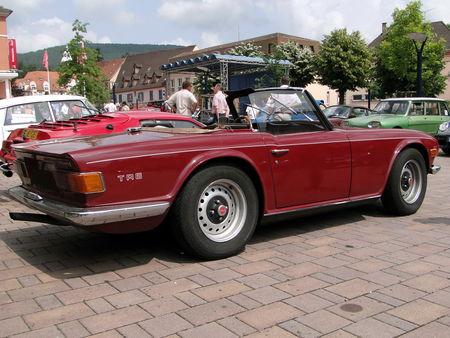 TRIUMPH TR6 Convertible 1969 a 1976 Rencard de Niederbronn les Bains 2