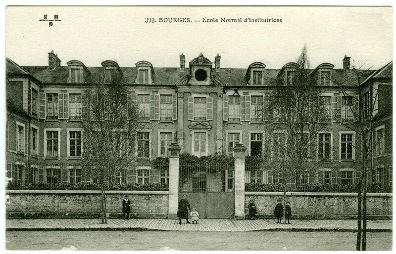 Ecole normale de Bourges - 35 Rue Jean Jacques Rousseau