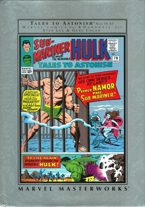marvel masterworks namor the sub-mariner 01 HC
