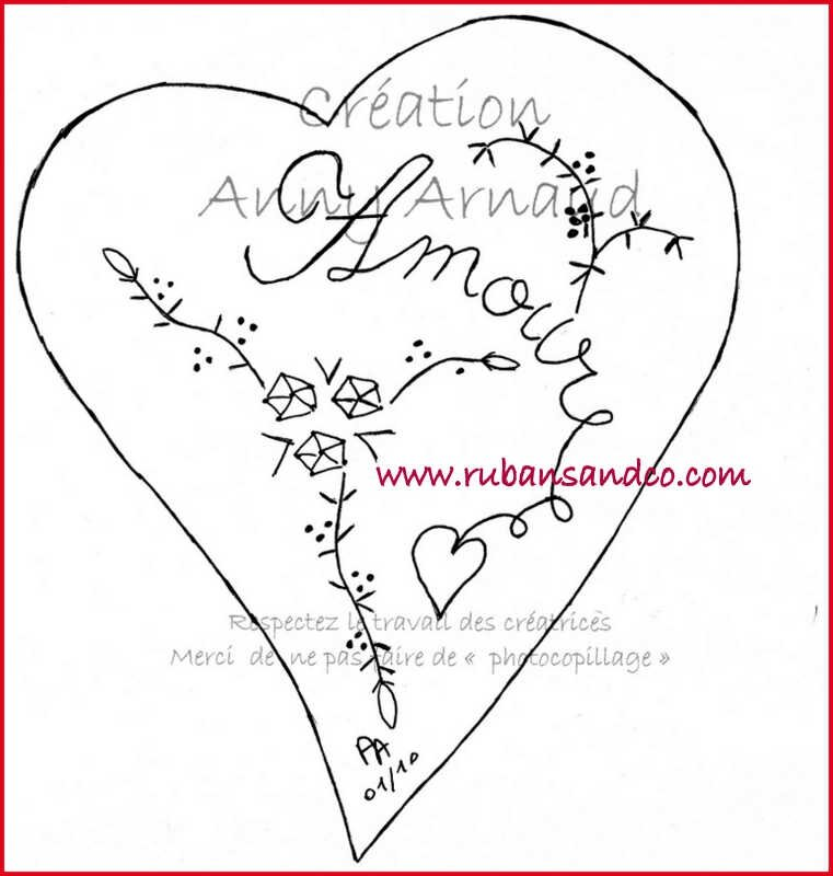 dessin coeur St Valentin