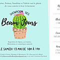 Showroom des b e a u x j o u r s edition 2017 - le 13 mai