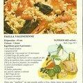 Paella valenciennes