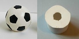 moule en silicone ballon de football