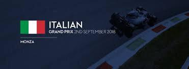 ITALIA GRAND PRIX AFFICHE 2018 W