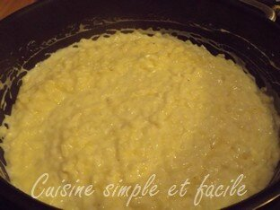 risotto courgettes poulet 03