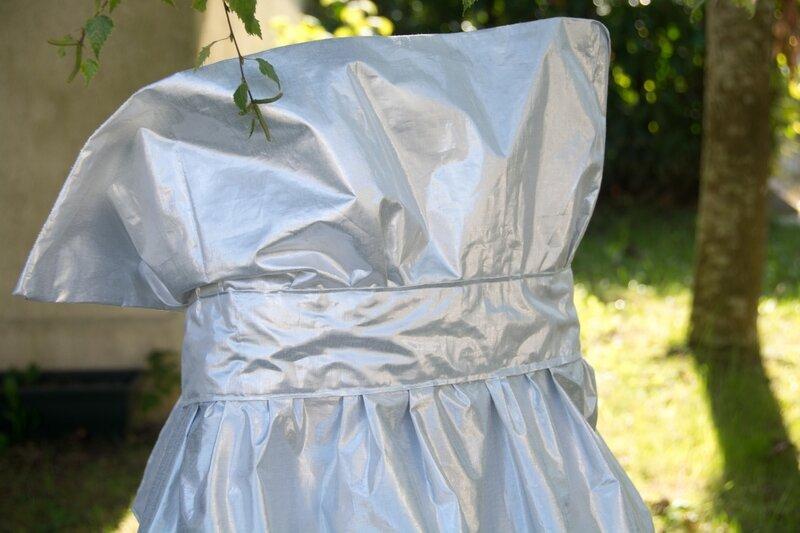 Col dos robe couleurs de lune