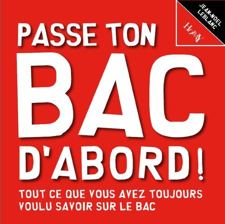 Bac d'abord, couv
