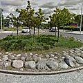 Rond-point à stockholm (suède)