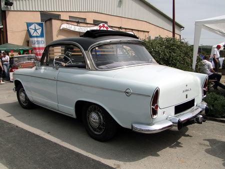 SIMCA Aronde P60 Monaco Speciale 1958 1963 Bourse Echanges de Soultzmatt 2010 2