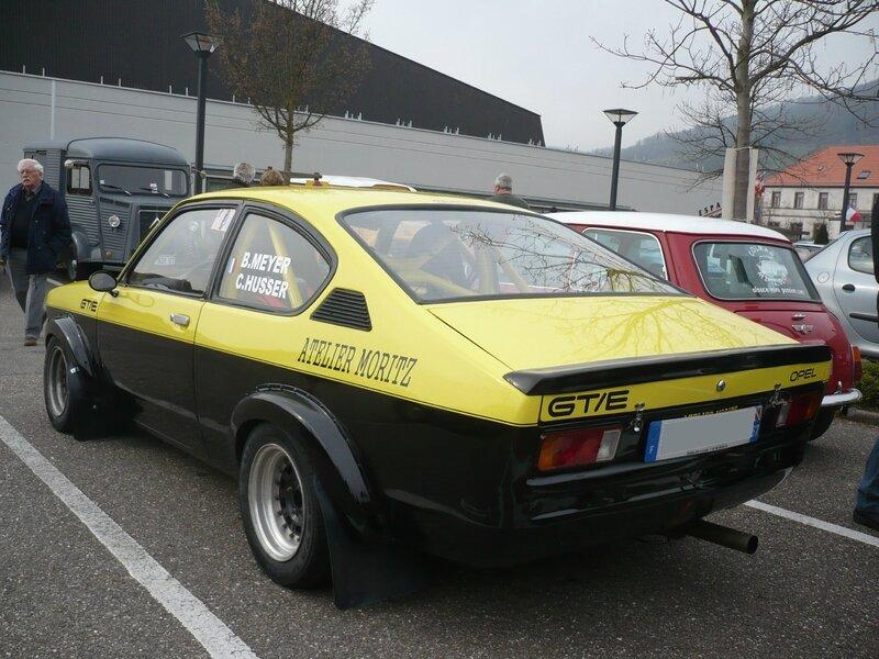 OPEL Kadett C GT-E coupé Châtenois (2)