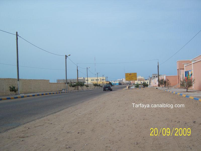 Route de Tarfaya à Laayoune