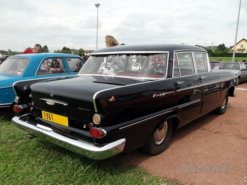opel kapitan p2 berline 1961 b