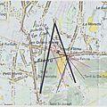 Aquarelle Van Gogh Flénu 11 - angle de vue Vincent Van Gogh