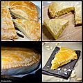 Galettes des rois - quatre recettes (classique, citron, pandan, mastiha)