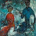 Vũ cao đàm (1908-2000), idylle (idyll), 1960