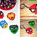 ✄ porte-clefs super héros / diy superheroes key rings ✄
