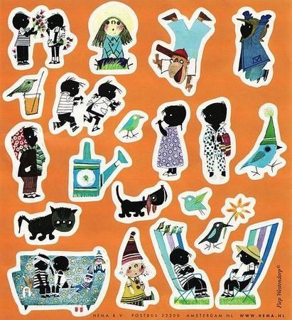 stickers_jip_et_Janneke_petit