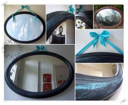 grand miroir ovale montage