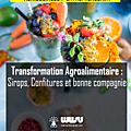Transformation agroalimentaire : confitures, sirops et bonne compagnie
