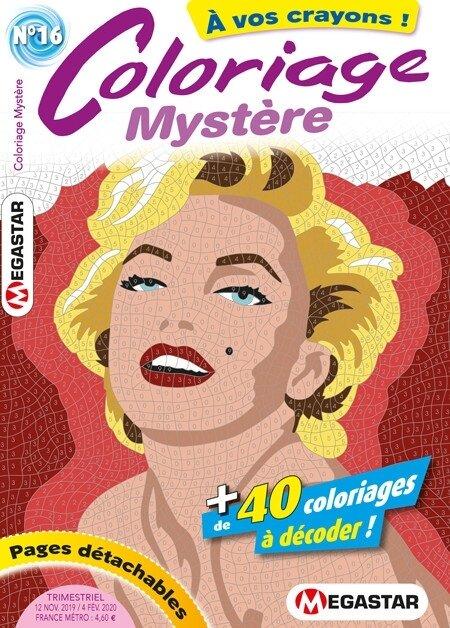 Coloriage mystère (Fr) 2019